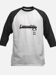 Esmeralda Classic Retro Name Desig Baseball Jersey