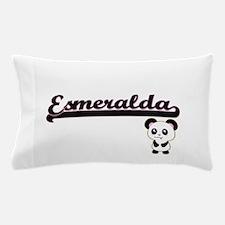 Esmeralda Classic Retro Name Design wi Pillow Case