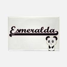 Esmeralda Classic Retro Name Design with P Magnets