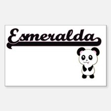 Esmeralda Classic Retro Name Design with P Decal