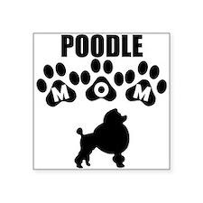 Poodle Mom Sticker
