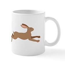 Leaping Rabbit Mugs