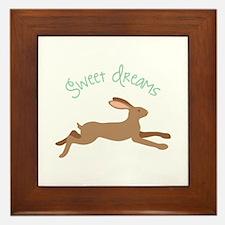 Sweet Dreams Framed Tile