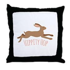 Hippity Hop Throw Pillow