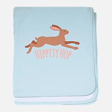 Hippity Hop baby blanket