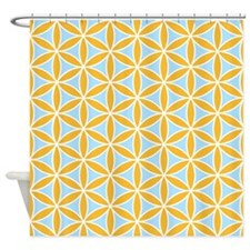Flower of Life Ptn OWB Shower Curtain