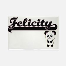 Felicity Classic Retro Name Design with Pa Magnets