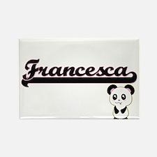 Francesca Classic Retro Name Design with P Magnets