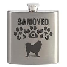 Samoyed Mom Flask