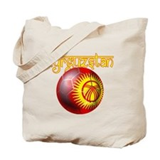 Kyrgyzstan Football Tote Bag