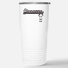 Giovanna Classic Retro Stainless Steel Travel Mug