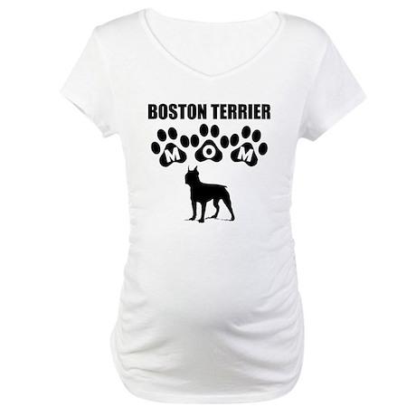 Boston terrier mo maternity t shirt boston terrier mom for Boston rescue 2 t shirt