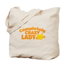 Completely crazy CAT LADY Tote Bag