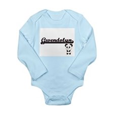 Gwendolyn Classic Retro Name Design with Body Suit