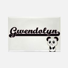 Gwendolyn Classic Retro Name Design with P Magnets