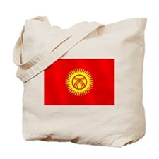 Flag of Kyrgyzstan Tote Bag