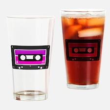 Cute Cassette Drinking Glass