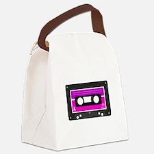 Cute Cassette Canvas Lunch Bag
