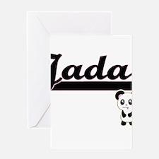 Jada Classic Retro Name Design with Greeting Cards