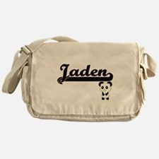 Jaden Classic Retro Name Design with Messenger Bag