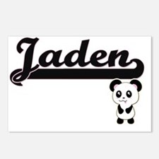 Jaden Classic Retro Name Postcards (Package of 8)