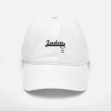 Jaden Classic Retro Name Design with Panda Baseball Baseball Cap