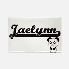 Jaelynn Classic Retro Name Design with Pan Magnets