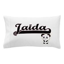 Jaida Classic Retro Name Design with P Pillow Case