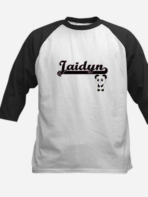 Jaidyn Classic Retro Name Design w Baseball Jersey