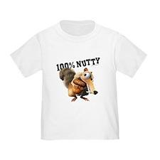 Ice Age Scrat 100% Nutty T
