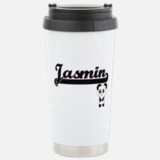 Jasmin Classic Retro Na Stainless Steel Travel Mug