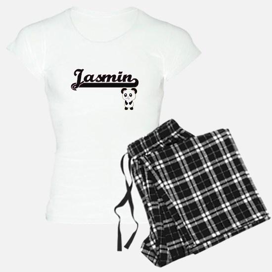 Jasmin Classic Retro Name D Pajamas