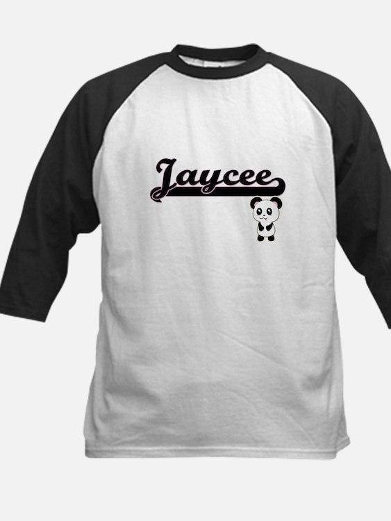 Jaycee Classic Retro Name Design w Baseball Jersey