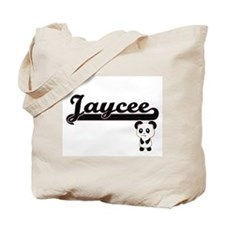 Jaycee Classic Retro Name Design with Pan Tote Bag
