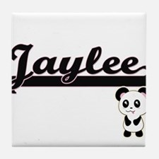 Jaylee Classic Retro Name Design with Tile Coaster