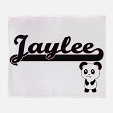 Jaylee Classic Retro Name Design wit Throw Blanket
