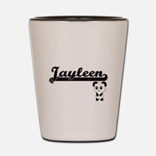 Jayleen Classic Retro Name Design with Shot Glass