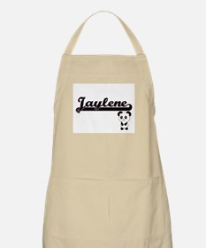Jaylene Classic Retro Name Design with Panda Apron