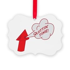 Quitting time whistle Ornament