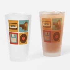 When I grew up Drinking Glass