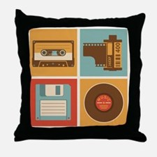 When I grew up Throw Pillow