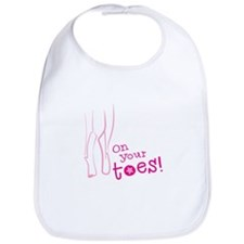 On your toes ballet Bib