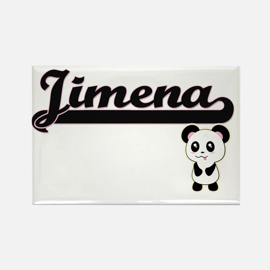 Jimena Classic Retro Name Design with Pand Magnets