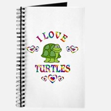 I Love Turtles Journal