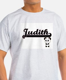 Judith Classic Retro Name Design with Pand T-Shirt