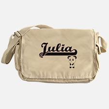 Julia Classic Retro Name Design with Messenger Bag