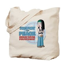 Pacifist for Peace Hayley Smith Tote Bag