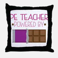 PE Teacher Throw Pillow