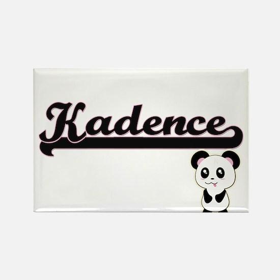 Kadence Classic Retro Name Design with Pan Magnets