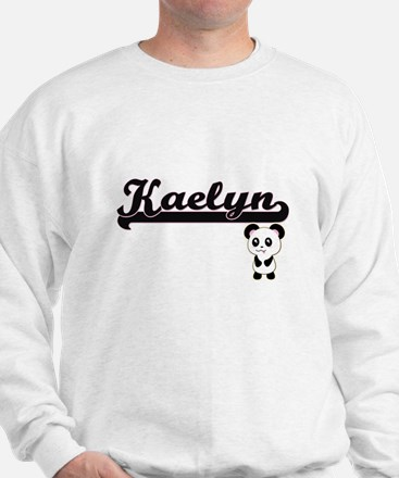 Kaelyn Classic Retro Name Design with P Sweater